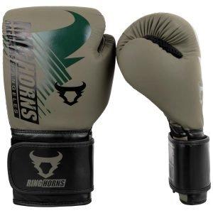 Ringhorns Charger MX Boxing Gloves Khaki Black