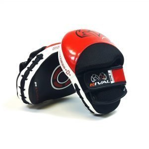 Rival RPM7 Fitness Plus Punch Mitts Red Black