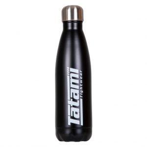 Tatami Water Flask Black with White Logo
