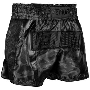 Venum Full Cam Muay Thai Shorts Urban Camo Black Black