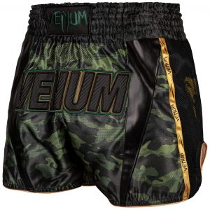 Venum Full Cam Muay Thai Shorts Forest Camo