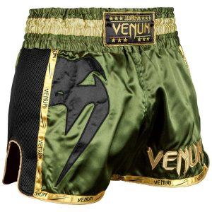 Venum Giant Muay Thai Shorts Khaki Black