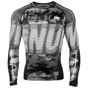 Venum Tactical Rash Guard Long Sleeve Urban Camo Black