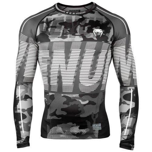 Venum Tactical Rash Guard Long Sleeve Urban Camo Black