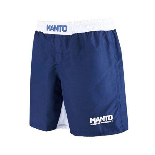 Manto Fight Shorts Defend Navy White