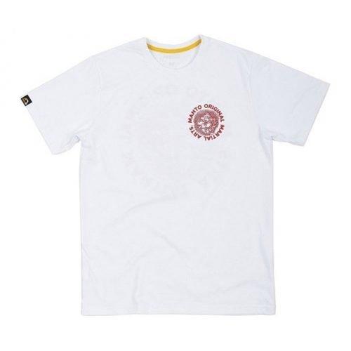 Manto T-Shirt Martial Arts White