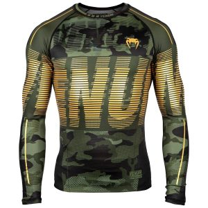 Venum Tactical Rash Guard Long Sleeve Urban Camo