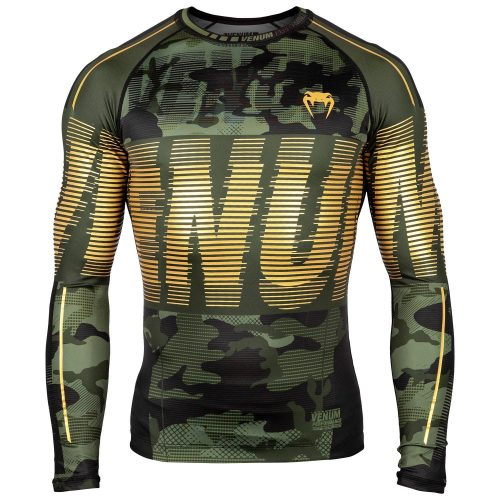 Venum Tactical Rash Guard Long Sleeve Urban Camo