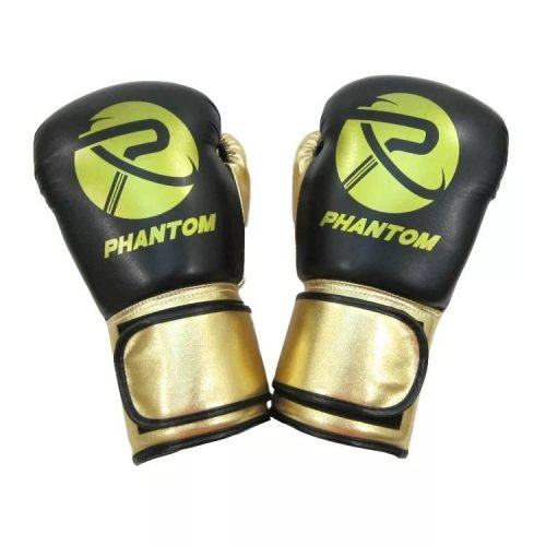Phantom Luxe Boxing Gloves Black Gold