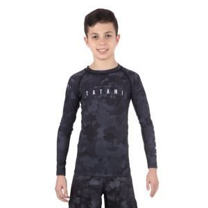 Tatami Kids Stealth Long Sleeve Rash Guard