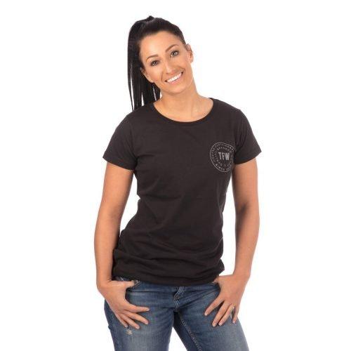 Tatami Ladies Iconic T-Shirt Black