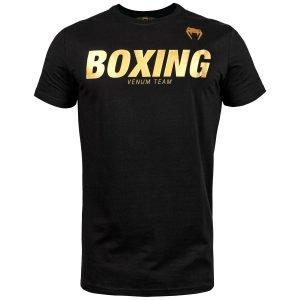 Venum Boxing VT T-Shirt Black Gold