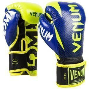 Venum Hammer Pro Boxing Gloves Loma Edition Blue Yellow