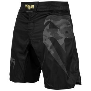 Venum Light 3.0 Fight Shorts Black Black Camo