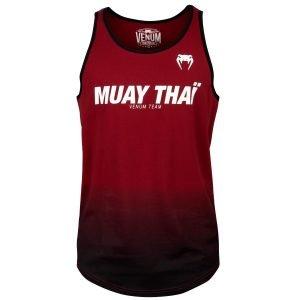 Venum Muay Thai VT Tank Top Red Wine Black