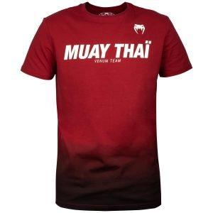 Venum Muay Thai VT T-Shirt Red Wine Black