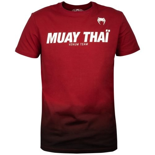 Venum Muay Thai VT T-Shirt Red Wine Black