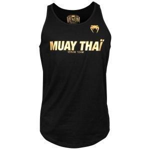 Venum Muay Thai VT Tank Top Black Gold