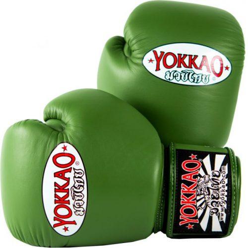 Yokkao Matrix Boxing Gloves Green