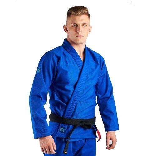 Manto Base BJJ Gi Blue Navy V2 + White Belt