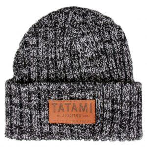 Tatami Folded Beanie Hat Dark Grey