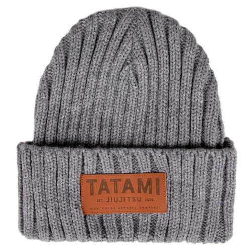 Tatami Folded Beanie Hat Grey