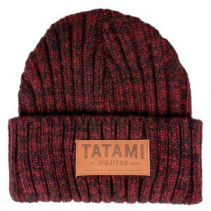 Tatami Folded Beanie Hat Maroon