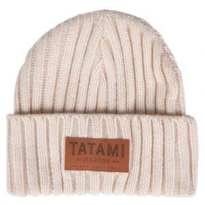Tatami Folded Beanie Hat Beige