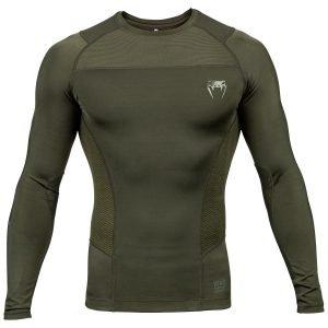 Venum G-Fit Rash Guard Long Sleeve Khaki