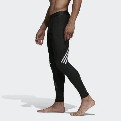 Adidas Alphaskin Sport + Long 3-Stripes Tights