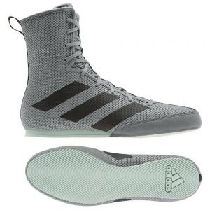 Adidas Box Hog 3 Boxing Boots Grey