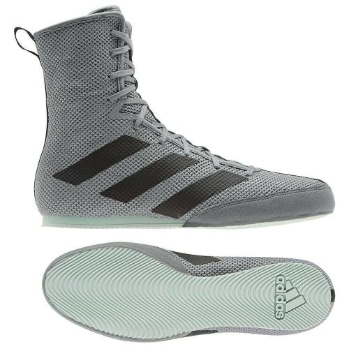 Adidas Box Hog 3 Boxing Boots Grey