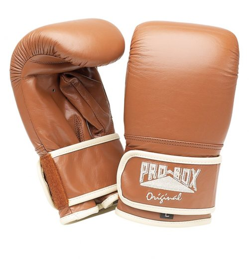 Pro Box Original Punch Bag Mitts Brown