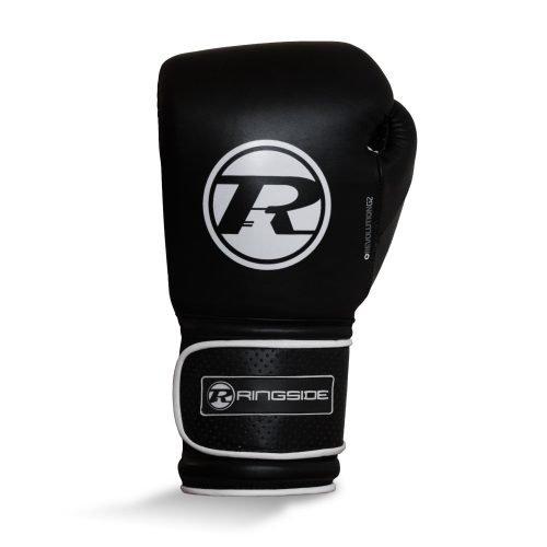 Ringside Revolution G2 Super Pro Spar Glove Strap Black White