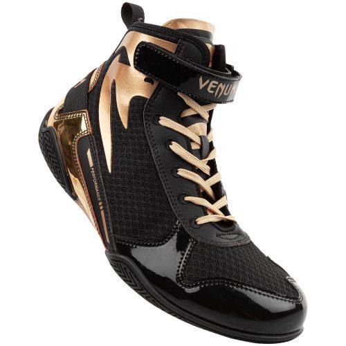 Venum Giant Low Boxing Shoes Black Gold