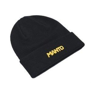 Manto Logotype Beanie Black