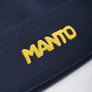 Manto Logotype Beanie Navy