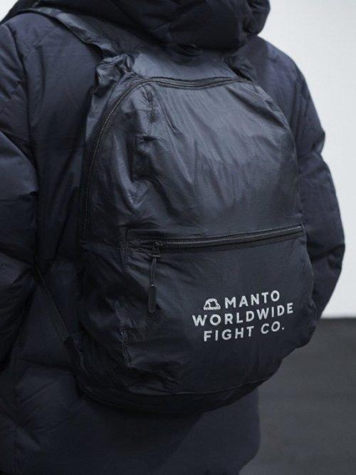 Manto Packable Backpack Black