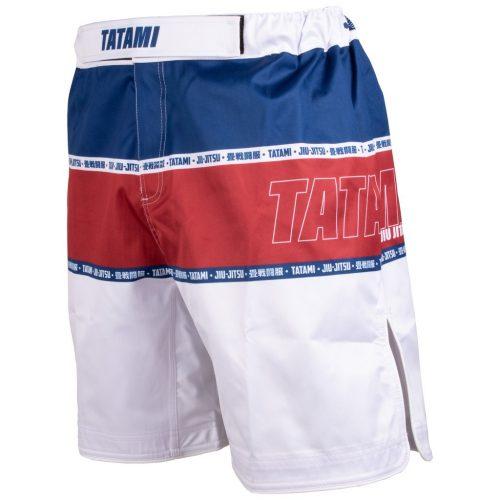 Tatami Contour Collection Shorts Burgundy