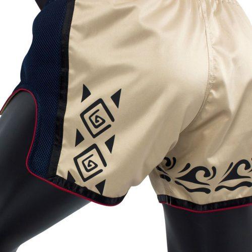 Fairtex BS1713 Khaki Slim Cut Muay Thai Shorts