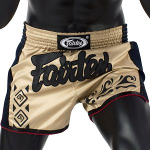 Fairtex BS1713 Khaki Slim Cut Muay Thai Shorts