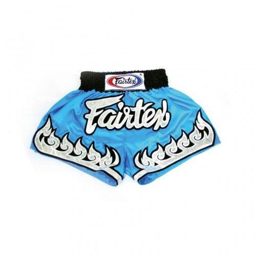 Fairtex BSK631 Kids Muay Thai Shorts Sky Blue