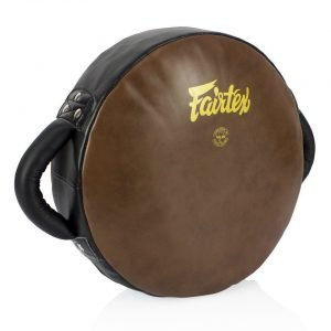 Fairtex LKP2 Donut Pad Vintage Leather Brown