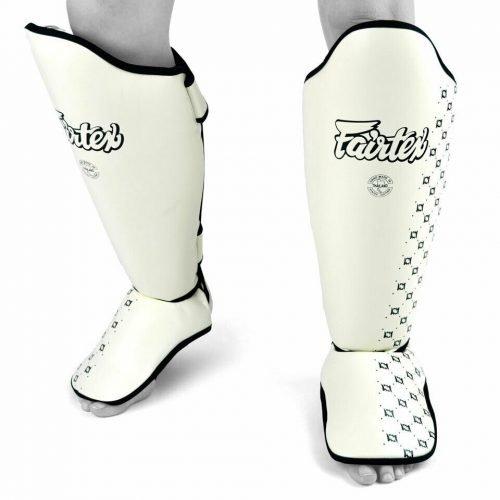 Fairtex Shin Guards SP5 White
