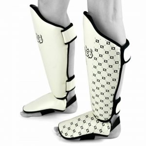 Fairtex Shin Guards SP5 White
