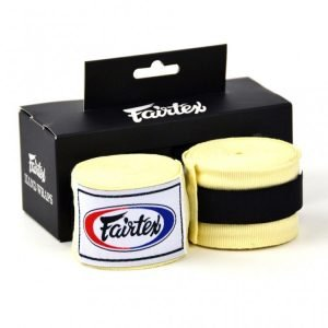 Fairtex HW2 Hand Wraps White 4.5M Stretch