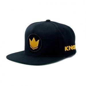Kingz Gi Material Snapback Black Gold