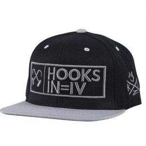 Kingz HOOKS IN = IV Snapback Grey