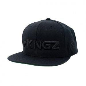 Kingz Logo Snapback Black