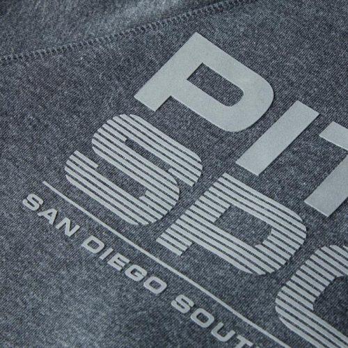 Pitbull Sports West Coast Men Hooded Raven Sweatshirt Charcoal